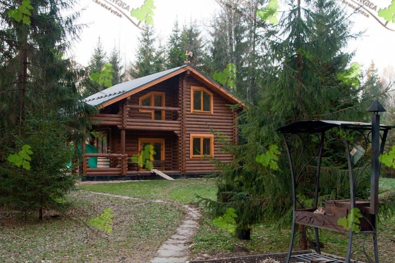 дом из дерева киев построить