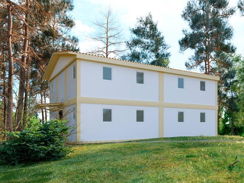 модульный дом киев построить