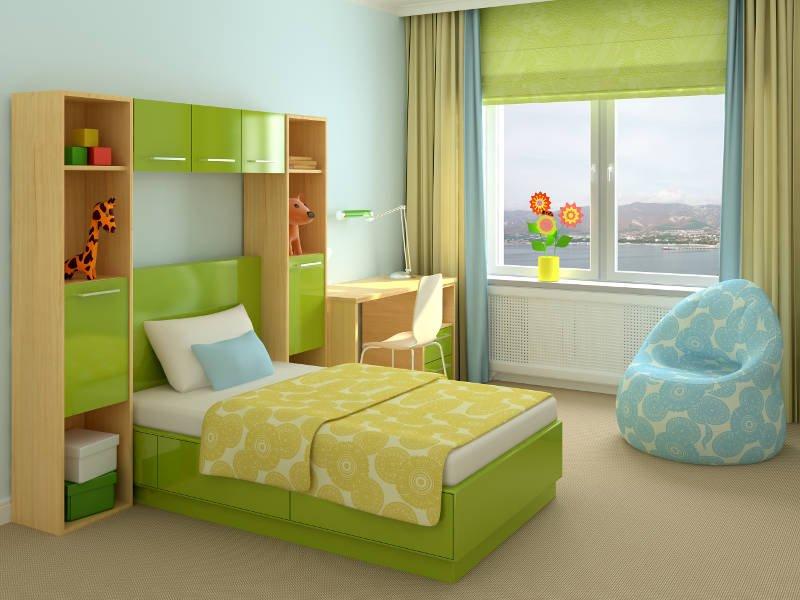 стоимость дизайна детской в Киеве