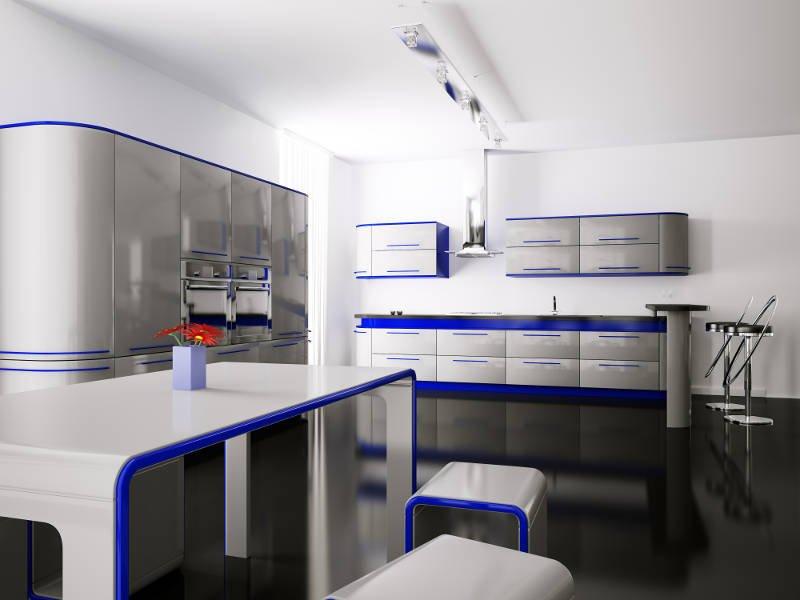 modern design of a kitchen