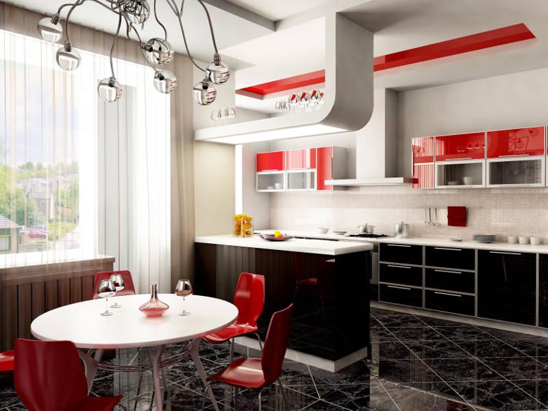 modern kitchen design in Kiev