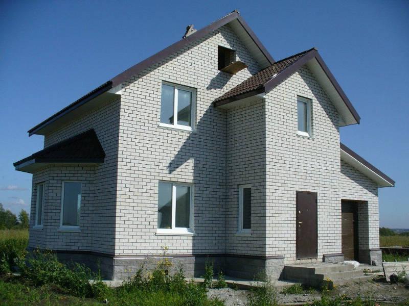 построить дом из газоблока киев