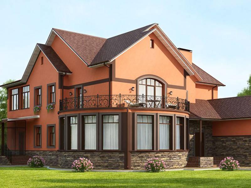 построить дом керамоблок киев