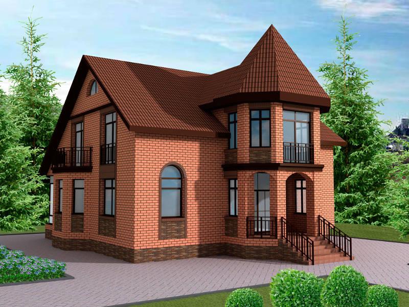построить кирпичный дом киев стоимость