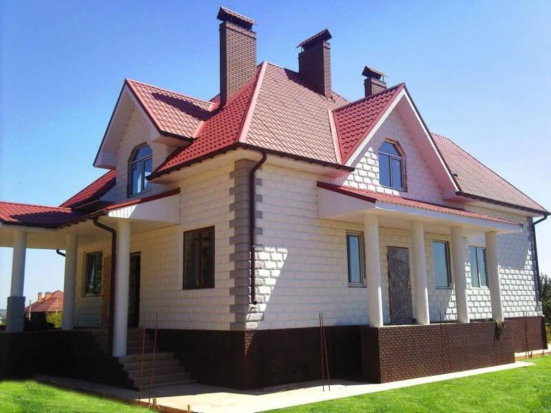 сколько стоит построить дом из термоблока в киеве